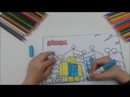 Roblox Girl Coloring Pages