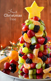 Start A New Holiday Tradition With Beautiful And Fresh Fruit Christmas Tree Perfect For