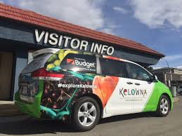The Van Poses In Front Of The Visitor Centre - TOTA Regional Tourism ...