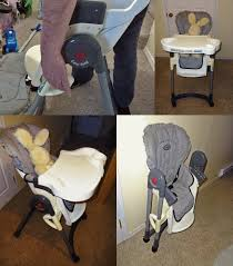 how to use the evenflo high chair slide n serve 3 position 1