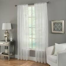 Curtain Rods Bed Bath And Beyond Canada by Buy 63 Inch Sheer Curtain Panel From Bed Bath U0026 Beyond