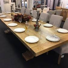 Extra Large Extending Dining Room Table