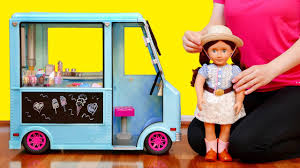 100 Toy Ice Cream Truck And Baby Doll Playset For Kids YouTube