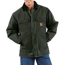 104 Carhart On Sale T Sandstone Traditional Coat