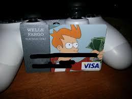 My Bank Finally Accepted My Card Design Imgur