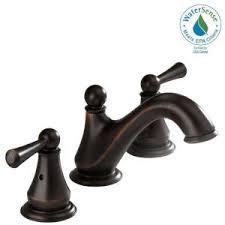 Delta Silverton Faucet Brushed Nickel by Delta Silverton 8 In Widespread 2 Handle Bathroom Faucet In