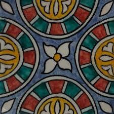 casa moro fliesenaufkleber marokkanische keramikfliese habil 10x10 cm handbemalte orientalische fliese kunsthandwerk aus marokko wandfliese für