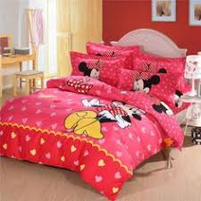 Minnie Mouse Queen Bedding by 100 Cotton Mickey Mouse Bedding Set Sky Blue Comforter Sets Kids