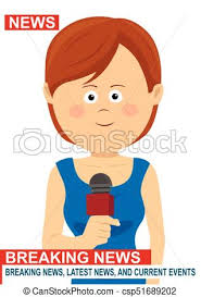 Female News Reporter