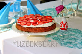 246 kuchen mit körnigem frischkäse tvorojnik uzbekberry