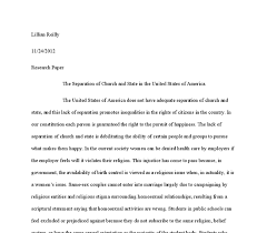 The Separation Of Church And State Essay It Is Evident That Issue