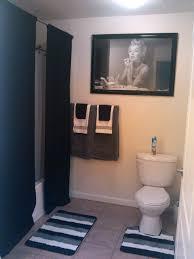 Orange Camo Bathroom Decor by Our Marilyn Monroe Bathroom Long Curtains U003c3 Home Sweet Home