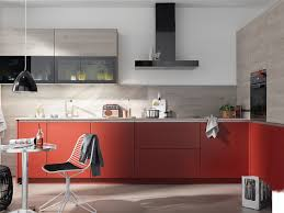 rote küchen belebend warm und auffällig