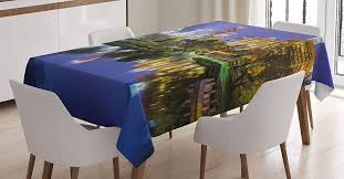 Amazon.com: Ambesonne City Tablecloth, North Carolina ... North Carolina Driftwood Ding Table Driftwood Decor Orchard Park Ding Table With 8 Chairs By Jofran At Fniture Fair New Classic Dixon 5pc Counter Set Inviting Room Ideas Discount Of The Carolinas Morrisville Nc Modern Blu Dot Handcrafted In America Kitchen And Room Canadel 6 Century Chairs Factory Willow Piece Powell Coaster 3635 High Country Davis Home Store Asheville Canton Far Eastern Furnishings Solidwood Oriental Chinese