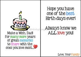 More Images Of Birthday Card For Dad Printable