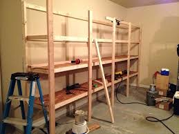 cheap and easy diy shelves for the basementhow to build wood
