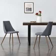 2x polsterstuhl design stühle esszimmerstuhl 2er set textil grau bürostuhl mit metallbeinen in holzoptik 2 stk en casa