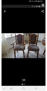 vintage nostalgie esszimmer stühle