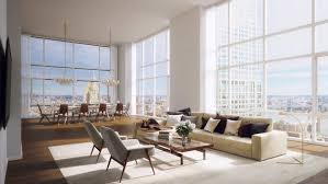 100 Penthouses For Sale Manhattan Penthouse Living Room Home Interior Living