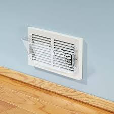Ceiling Heat Vent Deflector by Sidewall Baseboard Vent Extender
