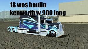 100 18 Wos Haulin Truck Mods Wheels Of Steel Haulin Load To Seattle Kenworth W900 Long PARTE
