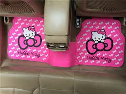 Cute Car Floor Mats by Buy Wholesale Cute Hello Kitty Cartoon Bowknot Universal Auto