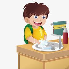 Dishwashing Boy Finished Washing Housework PNG And Vector