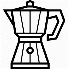 Coffee Coffeemaker Espresso Ground Moka Pot Icon