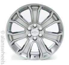 100 Oem Chevy Truck Wheels 4 NEW Silverado Avalanche Factory OEM Gray 22 Rims