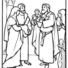 Boy Jesus In The Temple Coloring Page AZ Pages