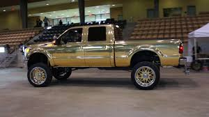 100 Wrapped Trucks Chrome Gold Lifted Ford Truck Part 2