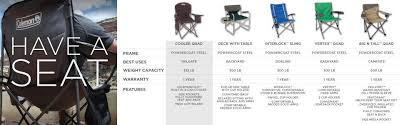 Type Of Chairs For Events by Amazon Com Coleman Cooler Quad Portable Camping Chair Black