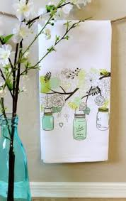 Mason Jar Kitchen Towel