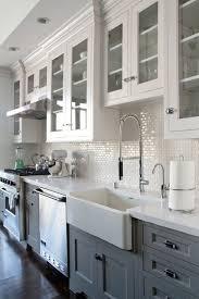 Backsplash Ideas White Cabinets Brown Countertop by Kitchen Backsplashns Subway Tile Ideas Picturesn Tilecksplash For