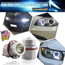 60w cree led eye halo light bulb for bmw e39 5s e59 e53 e60