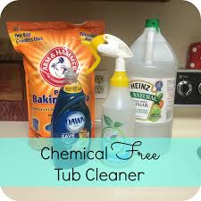 Bathtub Drain Clog Baking Soda Vinegar by Becoming A Chemical Free Home Tub The Buccio Clan