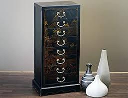 möbel chinesischer nachtschrank schwarz gold schrank kommode
