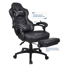 Amazon.com: Video Gaming Chairs High-Back PU Leather Office Chair ... Pc Gaming Chair And Amazon With India Plus Under 100 Together Von Racer Review Ultigamechair Amazoncom Baishitang Racing Swivel Leather Highback Best Budget In 2019 Cheap Comfortable Game Gavel Puluomis For Adults With Footresthigh Back Bluetooth Speakers Costco Ottoman Sleeper Chair Com Respawn Style Recling Autofull Video Chairs Mesh Ergonomic Respawns Drops To A New Low Of 133 At The A Full What Is The Most Comfortable And Wortheprice Gaming Quora