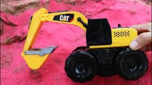 Fine Toys Construction Vehicles Under Sand Pink Colour. Excavator ...
