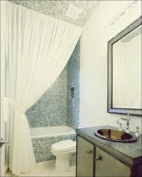 machen sie ihr badezimmer mit duschvorhang ideen größer