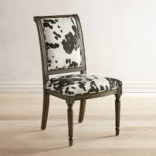Harper Cow Print Dining Chair | Dining Chairs, Chair, Cow ...
