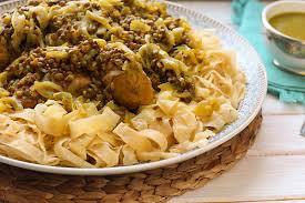 au poulet recette de la cuisine marocaine traditionnelle