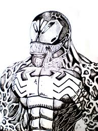 Free Venom Coloring Pages