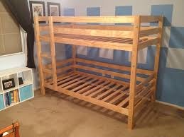 Bunk Bed Plans Pdf by Ana White Classic Bunk Beds Diy Projects