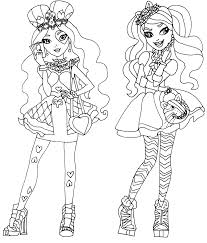 Ever After High Dragon Games Coloring Pages 1