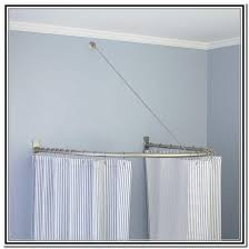 Bendable Curtain Rods Ikea by Curved Shower Curtain Rod Ikea Soozone