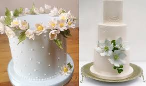 Wildflower Wedding Cakes By Krishanthi Left And Right Image Zosia Zacharia