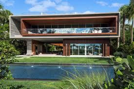 100 Miami Modern Ultracontemporary Beach Estate Knocks 4M Off Asking