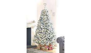 7ft Pre Lit Christmas Tree Trees Uk 7 Ft White Walmart