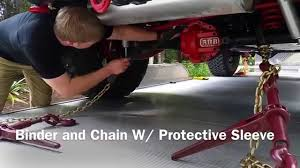 Binder And Chain Tie Down For Your Truck Or Equipment - YouTube Scowsuttons Profile Vital Mx Tie Down Material World Ask Rideapart How Do I Load And A Bike Truck Tie Down Anchors Compare Prices At Nextag Build Your Own Truck Storage System Tiedown Rack Aerofast 9m 2500kg Work Tiedown Kit With Mxtrax 4 Pc Universal Fit Bed Anchor Chrome Plated Loop Truck Bed Anchors Stake Pocket Side Hooks Loops Camper System Installed Dodge Cummins Diesel Forum Torklift Frame Mount Downs